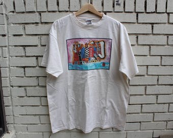 Vintage SIOUX Tribe Shirt Size XL X-Large Native American 100% Cotton Made in U.S.A. Indian