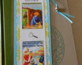 Nancy Drew Mystery of the Ivory Charm  & Mystery of the Brass Bound Trunk Bookmark  - Laminated double sided