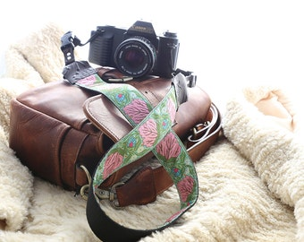 The Vivian DSLR Camera Strap with Quick Release Buckles -- 1.5 inches wide