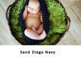 Newborn cocoon, crochet cocoon, baby cocoon, baby wrap, baby pod, knitted cocoon, baby boy cocoon, baby girl cocoon, photo prop, baby gift