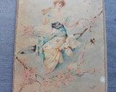 On layaway for Elizabeth. Payment 1 French Vintage, Antique Watercolours, Paris Boudoir,  Art Nouveau, 19th Century Paintings, Objects D Art
