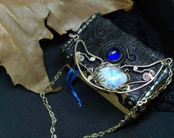 """Gift for woman ,important and elegance ,Silver fantasy necklace """" Moonlight"""""""