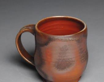 Clay Coffee Tea Mug Wood Fired G52