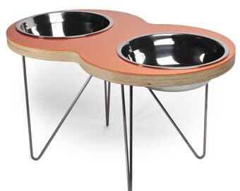 the EIGHT Modern pet bowl for Xtra large dogs