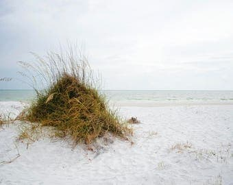 ocean landscape - siesta key beach florida ocean photography