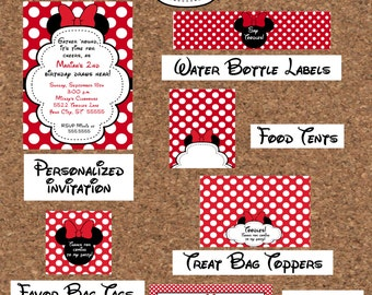 Minnie Mouse Party Package