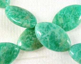 Amazonite Gemstone Turquoise-Green AAA Quality 16 inch Strand