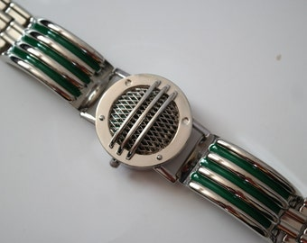Flawed Green Ranger Communicator Power Bracelet Cosplay Prop Cosplay Flawed