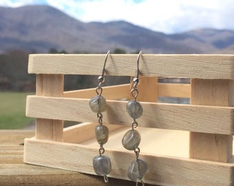 Labradorite Earrings FREE SHIPPING