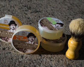 All Natural Shave Soap- Choose From 4 Scents