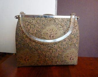Vintage Tapestry Interchangeable Snap Purse