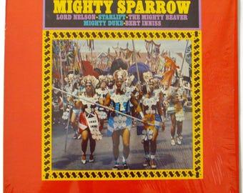Vintage 60s Caribbean Carnival Compilation Calypso Mono Album Record Vinyl LP