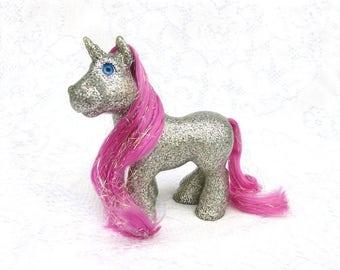 Vintage Cabbage Patch Kids Magic Meadow Ponies Glitz 'N Glamour Unicorn Sugar