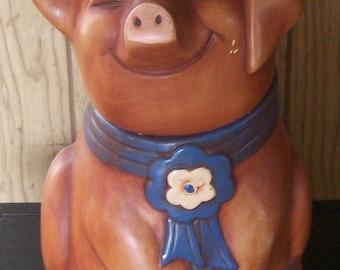 Vintage wilbur the pig from charlotte's web Ceramic Cookie Jar..