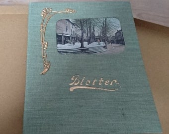 Vintage boxed blotter dated 1906