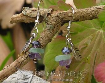 Spring Meadow Gemstone Earrings