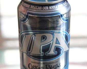 Beer Can Candle- Oscar Blues IPA
