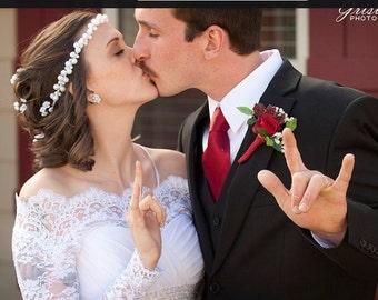 Bridal Off-Shoulder / Lace wedding jacket/ Bolero shrug/  jacket /bridal lace top