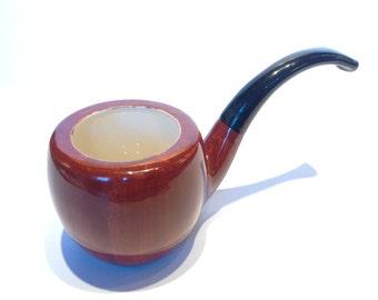 1950s Novelty Ceramic Tobacco Pipe.