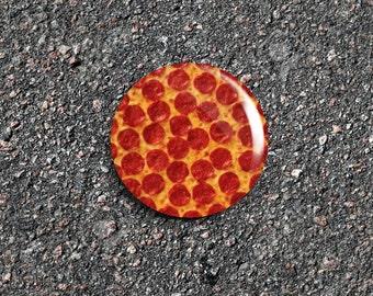 Pizza 1 Inch Pinback Button / Badge