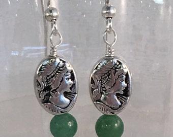 Goddess Earrings (8 Crystal Variations)
