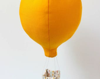 Baby Mobile - Confetti Collection - Hot-air-balloon solo - lozenges
