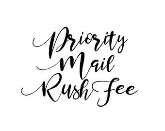 Priority Mail Rush Fee - Domestic ONLY