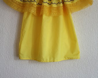 Summer mexican blouse (Size S)