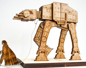 Book Ends, AT-AT on a leash, Star Wars, Bookends