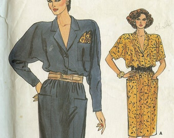 Vogue 9368 Misses Dress Sewing Pattern Size 8 to 12