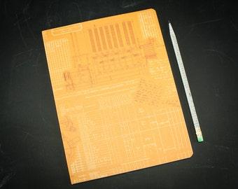 Programming Computer Science Softcover Notebook | Dot Grid Notebook, Bullet Journal, Mathematics, Recycled Paper Journal, Ada Lovelace, Code