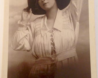 Vintage RP Postcard - Miss Alma Taylor Edwardian Actress