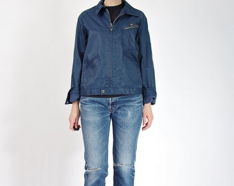 30% OFF SALE - 80s Pelly Workwear Zipped Mechanic's Style Jacket / Size M