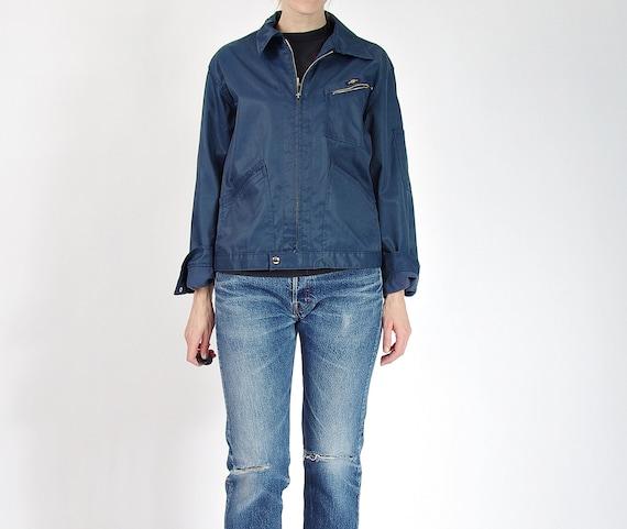 SALE 40% OFF - 80s Pelly Workwear Zipped Mechanic's Style Jacket / Size M