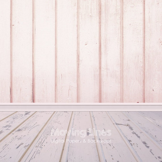 Pink wood newborn baby girl photography backdrop photo for Hardwood floors and babies