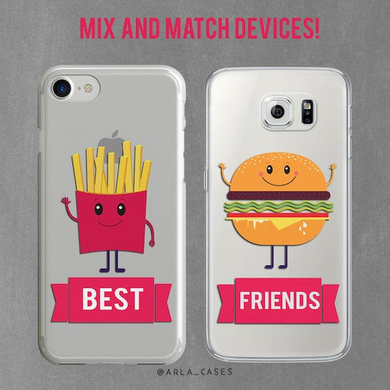 best friend iphone cases best friend gift bff iphone set iphone 7 plus 9118