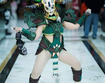 Diablo III Witch Doctor Cosplay Costume