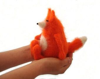 Crochet toy pattern / amigurumi fox pattern / crochet animal pattern / toy fox / crochet fox /Ludwig the Ingenuous Fox