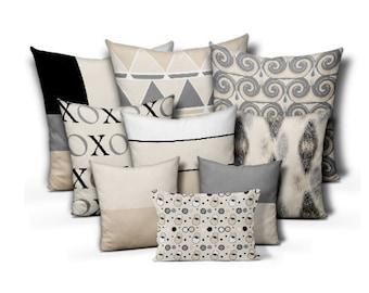 Neutral Accent Pillows Pillow Covers Neutral Decor Love