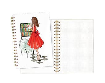 Gold Spiral Notebook: The Classic Reader