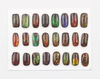 Ammolite Cabochons YHA-207-3