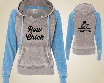 Women's rowing sweatshirt - RowChick