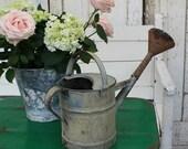 Watering Can  Vintage Watering Can  Vintage  Garden Decor  Gardening  Metal Watering Can  Garden  Farmhouse Decor