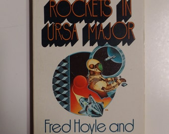 Rockets In Ursa Major by Fred and Geoffrey Hoyle Fawcett Crest Books 1971 Vintage Sci-Fi Paperback