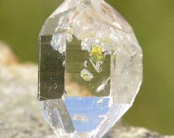 Golden Enhydro Herkimer Diamond Quartz - SPECIAL OFFER!