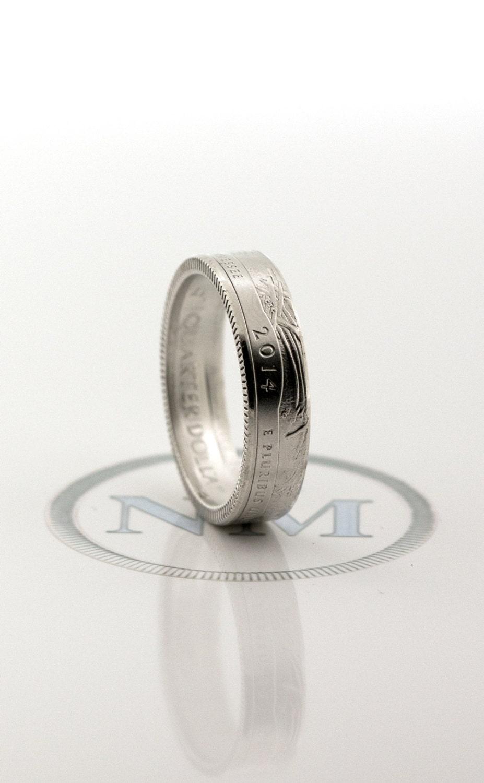 2014 silver quarter coin ring tennessee virginia utah colorado
