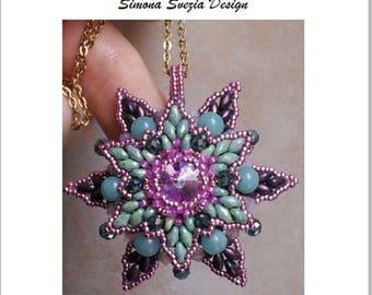 "TUTORIAL ""Spring Star"" pendant - ciondolo"