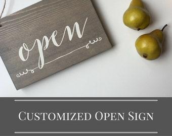 open u0026 closed sign storefront sign studio decor yoga studio decor
