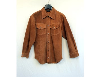 Suede Coat Womens