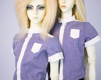 BJD Clothes - Men's shirt ( for SD bjd doll, Super Gem)